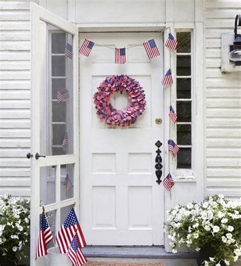 Cozy 4th Of July Door Decorations 07