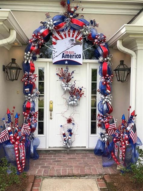 Cozy 4th Of July Door Decorations 08
