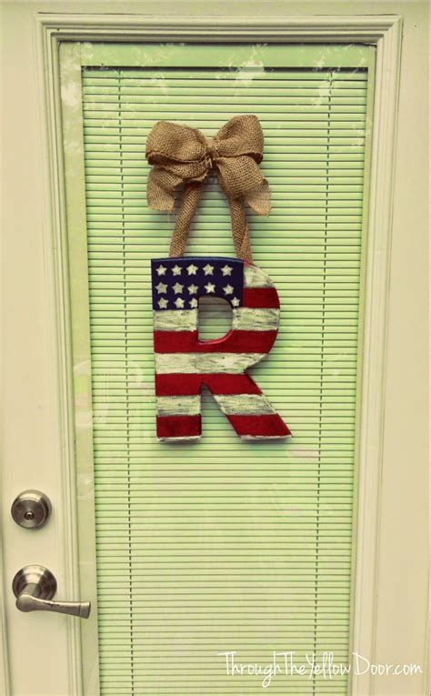 Cozy 4th Of July Door Decorations 09