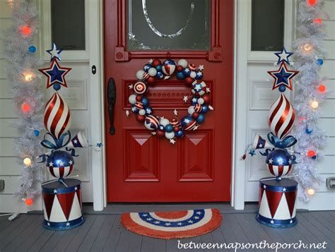 Cozy 4th Of July Door Decorations 10