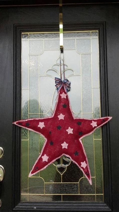 Cozy 4th Of July Door Decorations 14