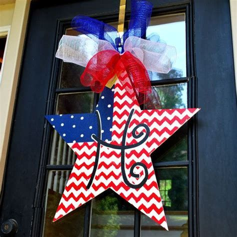 Cozy 4th Of July Door Decorations 17