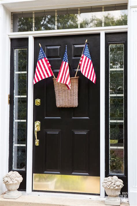 Cozy 4th Of July Door Decorations 18