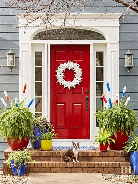 Cozy 4th Of July Door Decorations 19