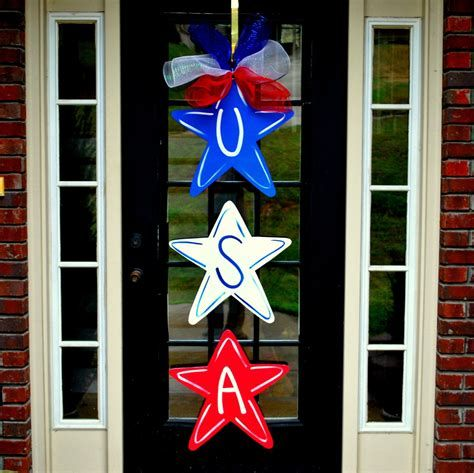 Cozy 4th Of July Door Decorations 22