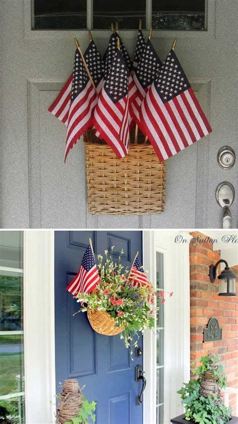 Cozy 4th Of July Door Decorations 24