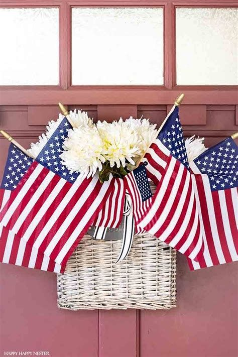 Cozy 4th Of July Door Decorations 25