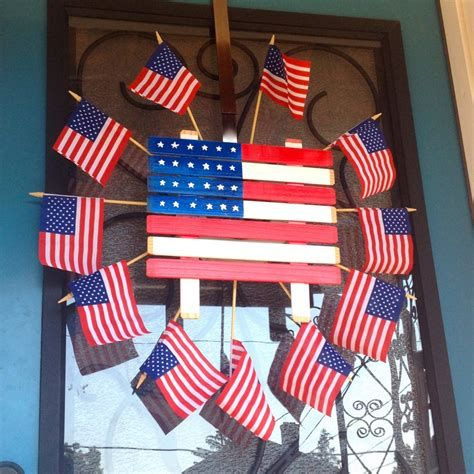 Cozy 4th Of July Door Decorations 26