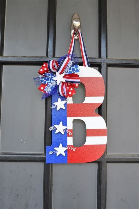 Cozy 4th Of July Door Decorations 29