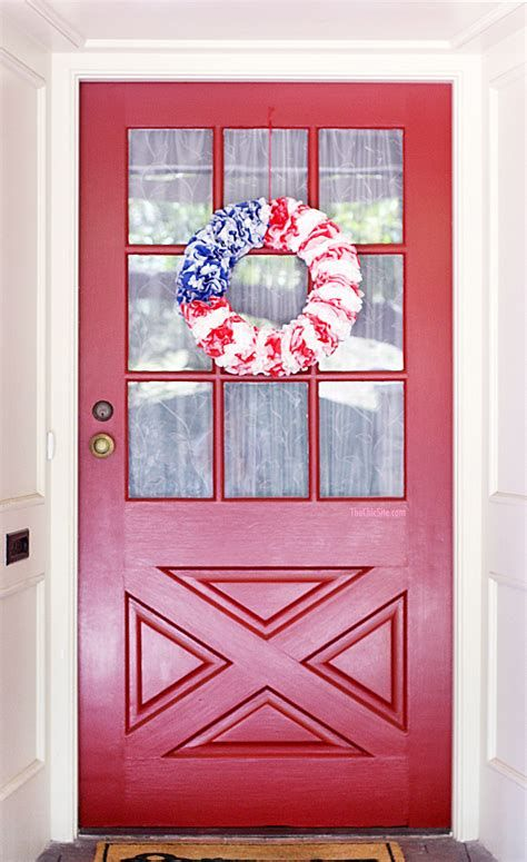 Cozy 4th Of July Door Decorations 32