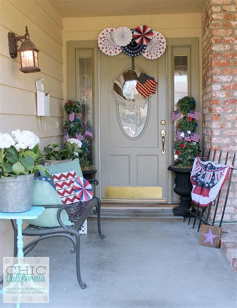 Cozy 4th Of July Door Decorations 34