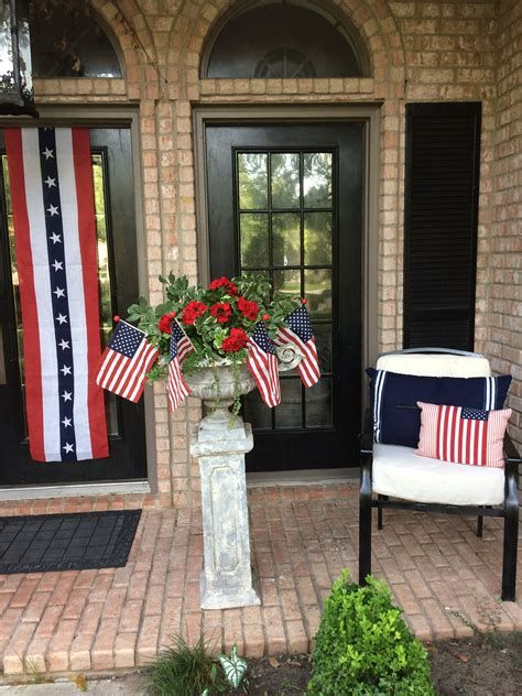 Cozy 4th Of July Door Decorations 37
