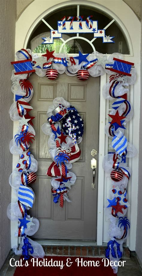 Cozy 4th Of July Door Decorations 41