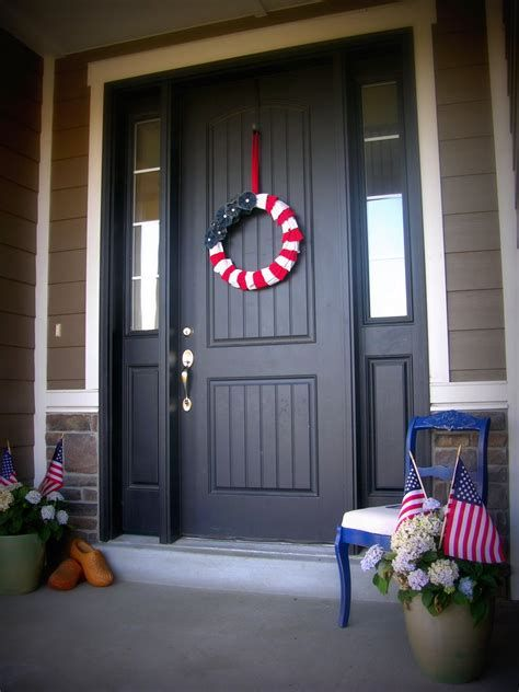 Cozy 4th Of July Door Decorations 42