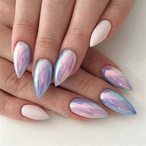 Creative Purple And Pink Nails 03