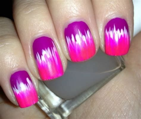 Creative Purple And Pink Nails 05
