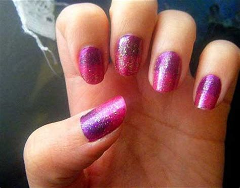 Creative Purple And Pink Nails 06
