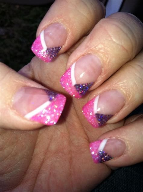 Creative Purple And Pink Nails 07