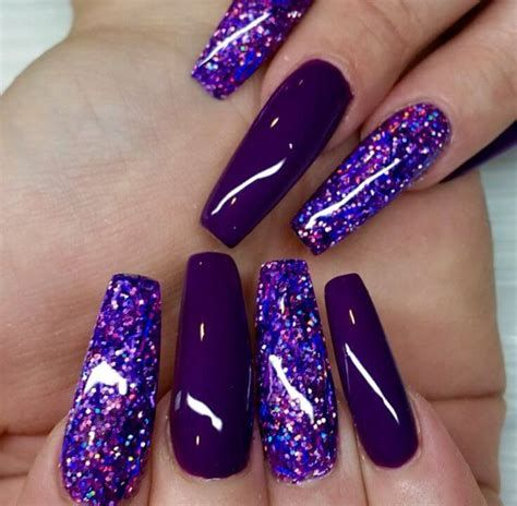 Creative Purple And Pink Nails 13