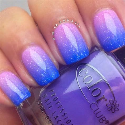 Creative Purple And Pink Nails 15
