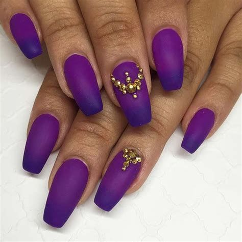 Creative Purple And Pink Nails 18