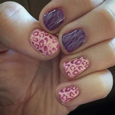 Creative Purple And Pink Nails 19