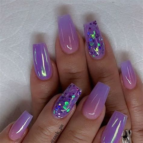 Creative Purple And Pink Nails 20
