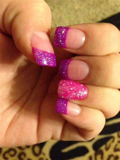 Creative Purple And Pink Nails 21