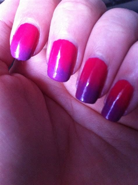 Creative Purple And Pink Nails 24