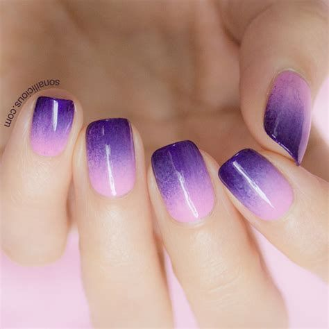 Creative Purple And Pink Nails 25