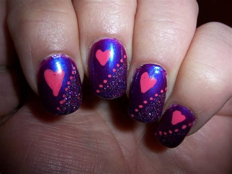 Creative Purple And Pink Nails 26