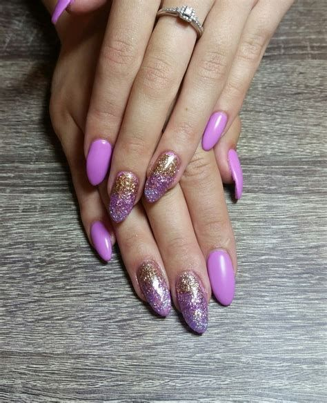 Creative Purple And Pink Nails 29