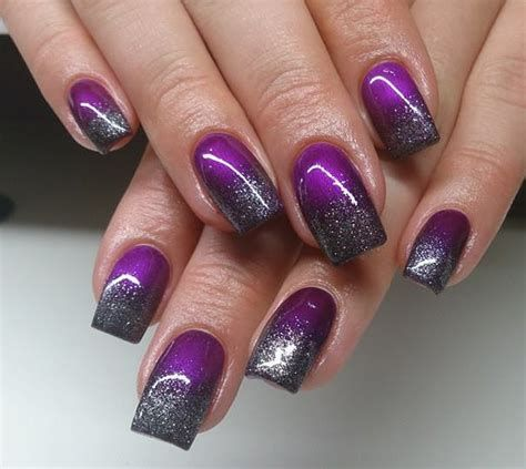 Creative Purple And Pink Nails 31