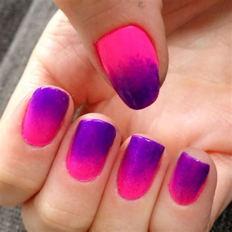 Creative Purple And Pink Nails 33