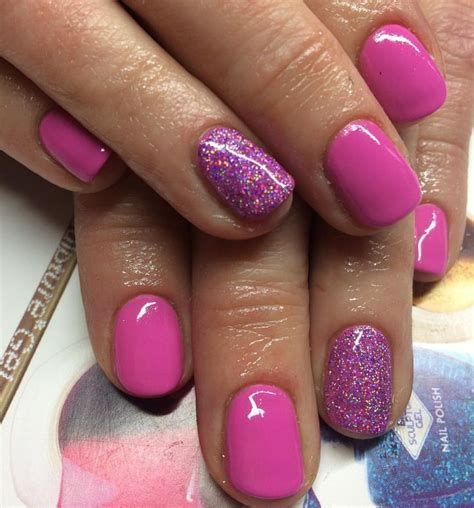 Creative Purple And Pink Nails 34