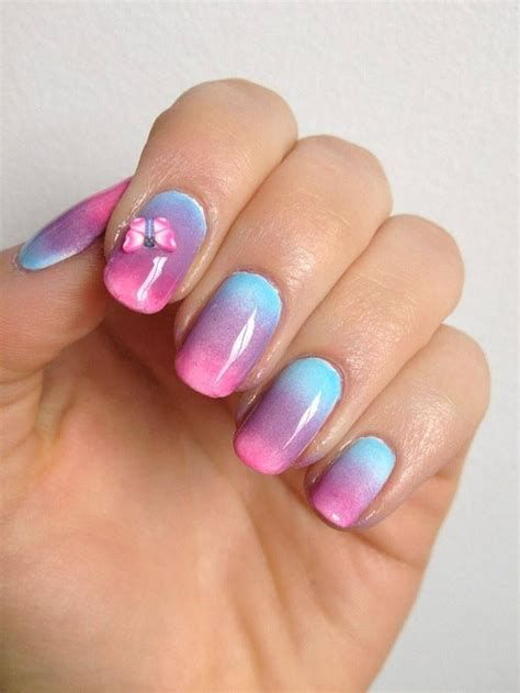 Creative Purple And Pink Nails 36