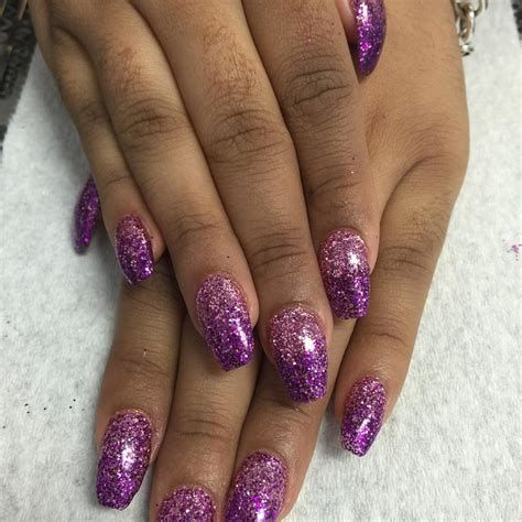 Creative Purple And Pink Nails 38