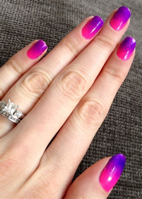 Creative Purple And Pink Nails 45