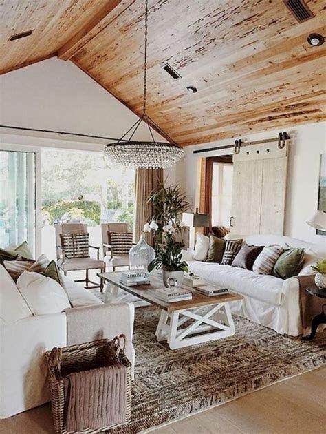 Creative Vintage Farmhouse Living Room 02