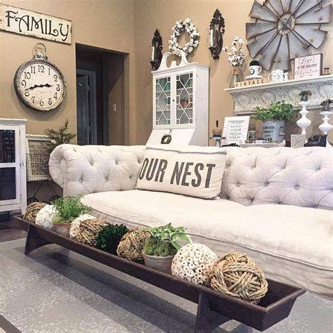 Creative Vintage Farmhouse Living Room 03