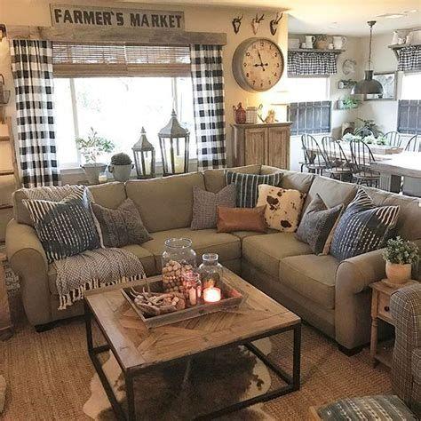 Creative Vintage Farmhouse Living Room 11