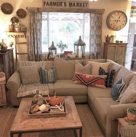 Creative Vintage Farmhouse Living Room 18