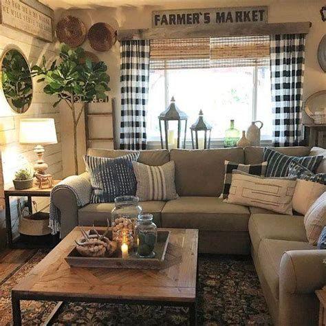 Creative Vintage Farmhouse Living Room 23