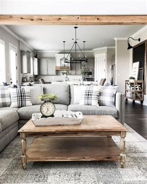 Creative Vintage Farmhouse Living Room 25