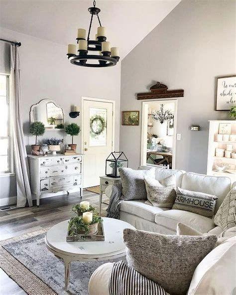 Creative Vintage Farmhouse Living Room 30