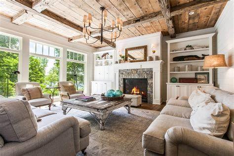 Creative Vintage Farmhouse Living Room 35