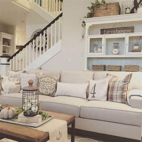Creative Vintage Farmhouse Living Room 42