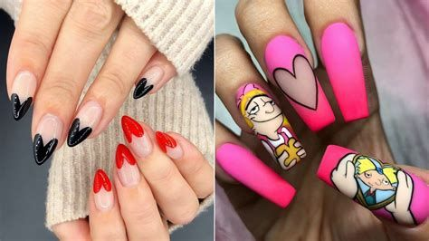Cute Valentines Day Nails Art Ideas 03