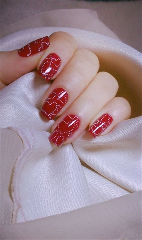 Cute Valentines Day Nails Art Ideas 05