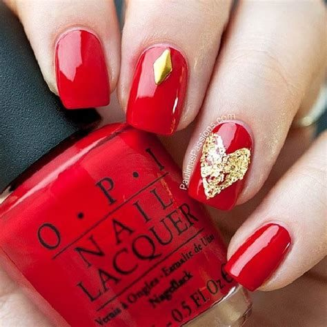 Cute Valentines Day Nails Art Ideas 07